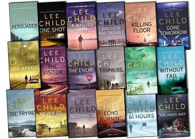Jack Reacher Audiobook Collection By Lee Child Digital MP3 Files