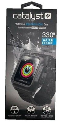 Catalyst Waterproof Case for Apple Watch 42mm -Sport Band Version NEW HW29
