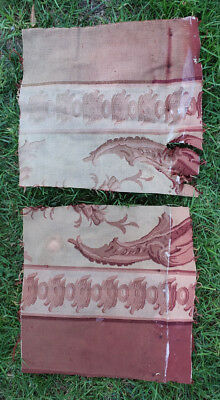 Two Aubusson Tapestry Fragments