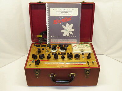 Hickok Micromho Dynamic Mutual Conductance Tube Tester Model 600A