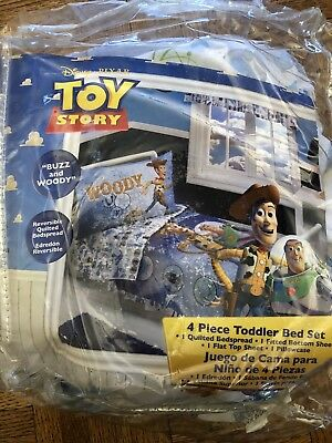 Toy Story Toddler Bedding  set 4 pieces
