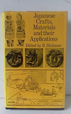 Japanese Crafts: Materials and Their Applications Hardback Book 2nd edtn
