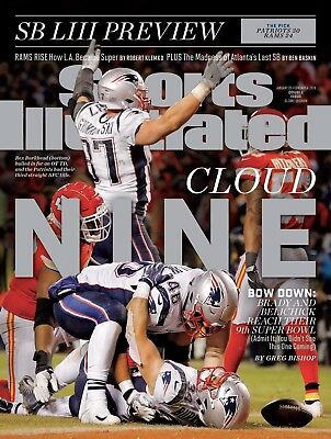 Sports Illustrated 2019 New England Patriots - Brady and Belichick Super Bowl 53