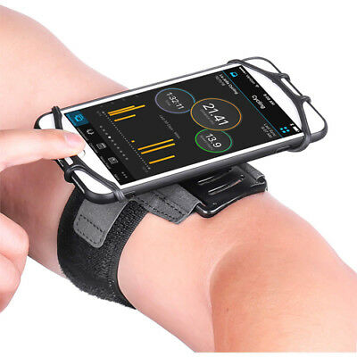 180° Running Phone Wristband Rotatable Bag Compatible 180 Degree Gym Instagram