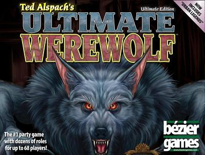 Bezier Cardgame Ultimate Werewolf w/Urban Legends Expansion (Ultimate E Box VG+