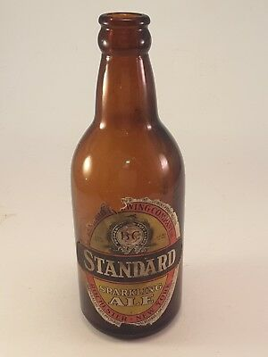 Standard Sparkling Ale Brown Glass 12 oz. Beer Bottle  ~ Rochester New York