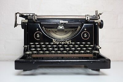 Antique Mercedes Typewriter No 5 ~  IMPECCABLE Condition ~ Full working order!