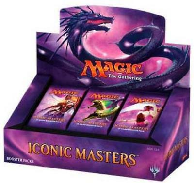 WOTC MtG Iconic Masters Booster Box CCG SW