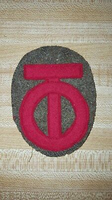 WW1 90th Division Patch