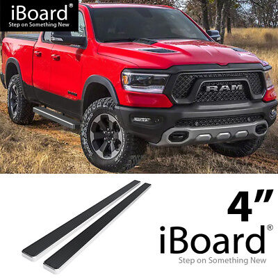 "iBoard Running Boards 5/"" Fit 19-20 Dodge Ram 1500 Crew Cab"