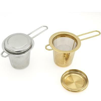 Stainless Steel Mesh Tea Infuser Reusable Cup Strainer Loose Leaf Spice Filter