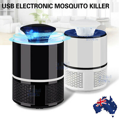 USB Mosquito Insect Killer Electric LED Light Fly Bug Zapper Trap Catcher Lamp Z
