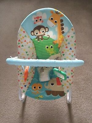 Baby Bouncer Baby Rocker Bright Starts Excellent Used Condition