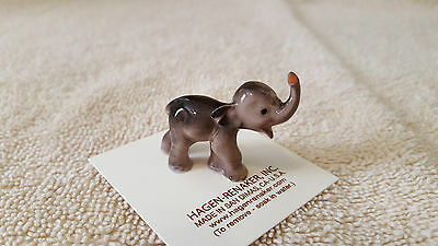 Hagen Renaker Elephant Small Baby Figurine Miniature Gift Free Shipping 00017