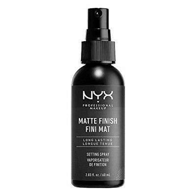 NYX Professional Makeup Make Up Setting Spray, Matte Finish/Long Lasting, 2.03 O