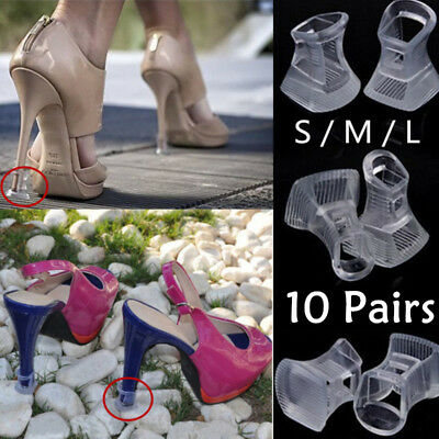 10 Pairs Wedding Glitz heels Mates High Heel Stiletto Heel Stoppers & Protectors