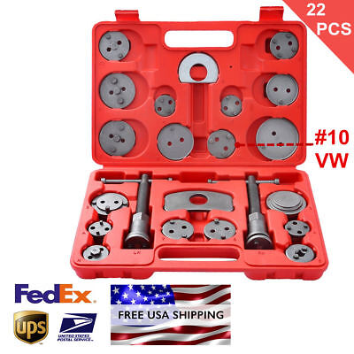 22PCS Heavy Duty Disc Brake Caliper Tool Set and Wind Back Kits for Brake Pad