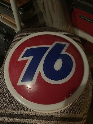 """Very Rare Vintage Red Union 76 -17"""" - Sign W  -LED -and Transformer"""