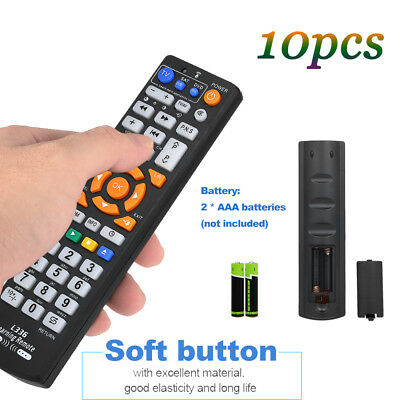 10x TV Remote Control Wireless Smart Controller Replacement for TV CBL DVD V2T6
