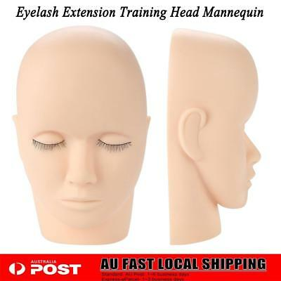 Mannequin Flat Training Head Make Up Eye Lashes Practice Eyelash Extensions