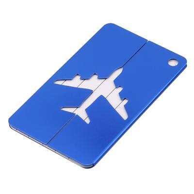 Luggage Baggage Tags Name Address ID Suitcase Travel Labels FW