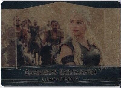 Daenerys Gold parallel #022/100 Valyrian Steel Game of Thrones
