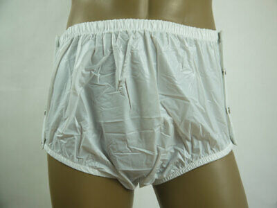 2 pairs * New  ADULT   PLASTIC PANTS  PVC  incontinence # P004-1