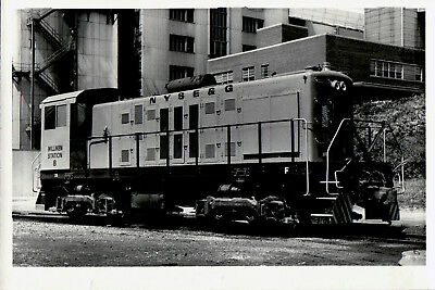 1980 New York State Electric & Gas Co Train Engine Railroad 6x4 Photo X2200S A