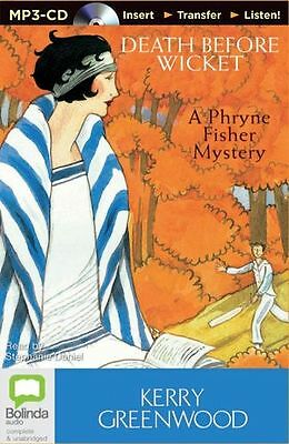 Kerry GREENWOOD / [Phryne Fisher 10] DEATH BEFORE WICKET  [ Audiobook ]