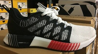 Reebok Fusion Flexweave Cage Men s Running Shoes Black White Red CN8388 L 25d5753bc