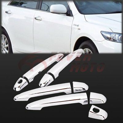 Chrome Side Door Handle Cover Trims For Toyota Camry 2007 2008 2009 2010 2011 FM
