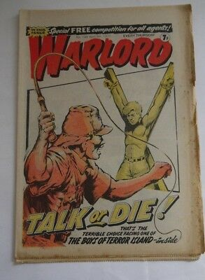 WARLORD comic No 133 April 9th 1977