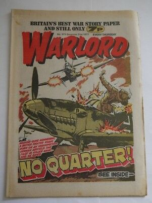 WARLORD comic No 171 December 31st 1977