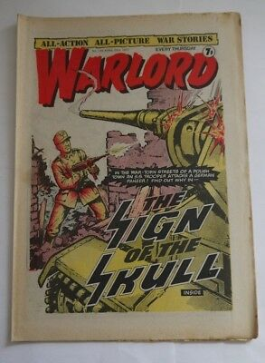 WARLORD comic No 135 April 23rd 1977