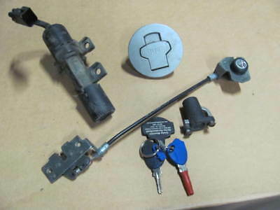 Buell Ulysses Lock Set, Ignition, Fuel Cap,Seat, Helmet Lock- complete w/ 2 Keys