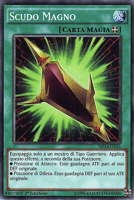 YU-GI-OH! MP14-IT035 Scudo Magno Comune 1°Ed YUGIOH Italiano