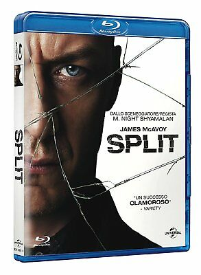 Split James McAvoy Anya Taylor-Joy Blu-ray NUOVO