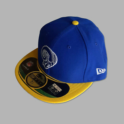 St. Louis Rams New Era NFL OnField 59FIFTY Fitted Cap - 7 1/4