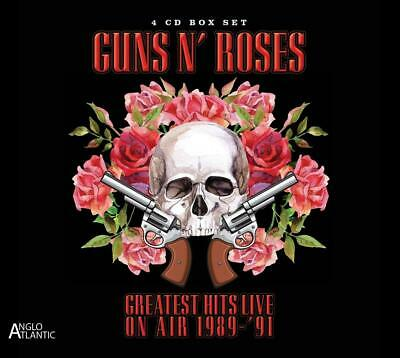Guns N' Roses - Greatest Hits Live On Air Radio Bro (4 Cd)