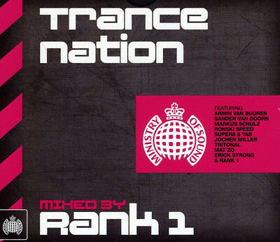 Ministry Of Sound - Trance Nation Mixed By Rank 1 (2 X CD)