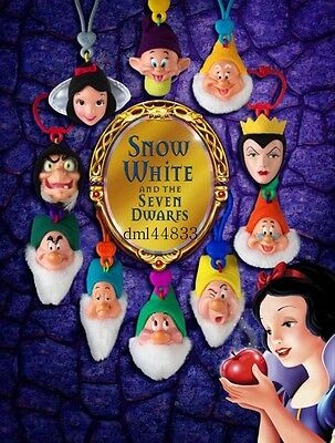 2001 McDonalds Snow White MIP Complete Set - Lot of 10, Boys & Girls, 3+