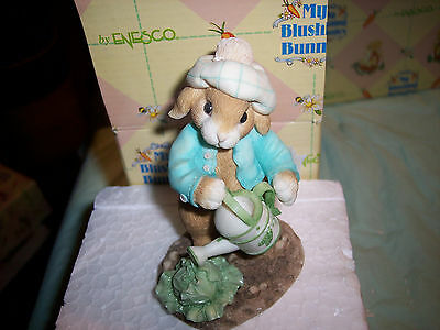 Enesco - My Blushing Bunnies Fig. LETTUCE GIVE THANKS FOR FRIENDS # 20439
