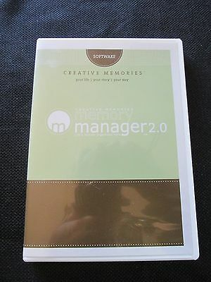 Creative Memories Memory Manager 2.0 Software PC CD-Rom
