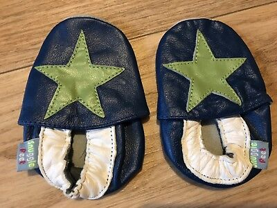 Baby Leather Shoes 0-3 Months