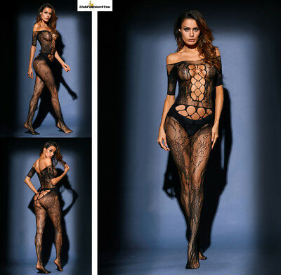 Hot Reizwäsche Fishnet Body Stocking Catsuit Netz Body Unterwäsche |H| 79973-2