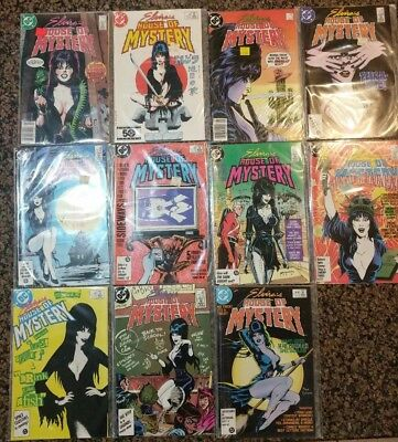 Elvira's House of Mystery(DC) NM-9.2, Complete Mini Series Set 1-11