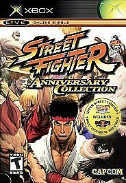 Street Fighter Anniversary Collection (Microsoft Xbox, 2005) GREAT SHAPE