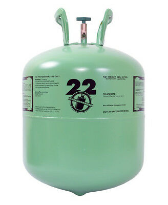 R 22 BRAND NEW SEALED Freon R-22 Refrigerant 30lbs Cylinder FREE SHIPPING R22
