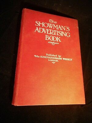 The showman's advertising book Picture House Cinema posters Hassall & Owen 1914