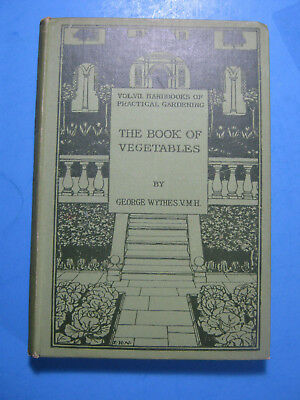 Book Of  Vegetables Wythes